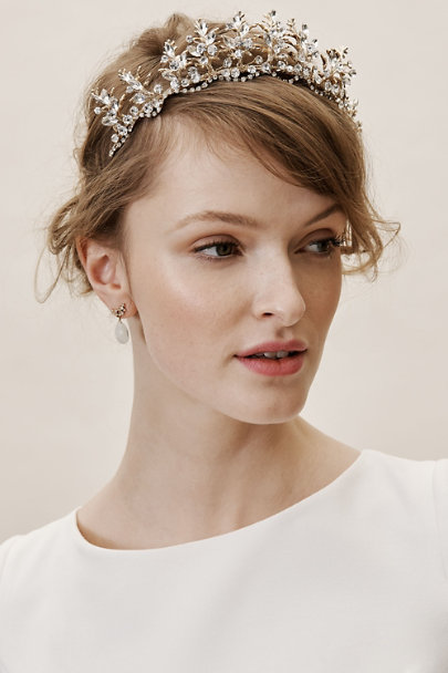 Twigs & Honey Gold Ginerva Tiara | BHLDN
