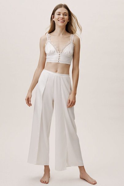 Rya Collection Ivory Delightful Bralette And Pant Set | BHLDN