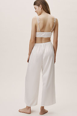 Delightful Bralette And Pant Set