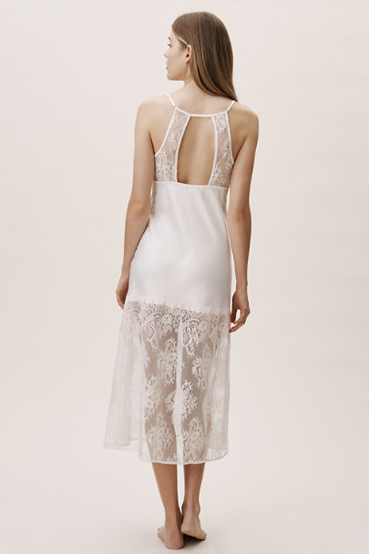 Rya Collection Ivory Queen Nightgown | BHLDN