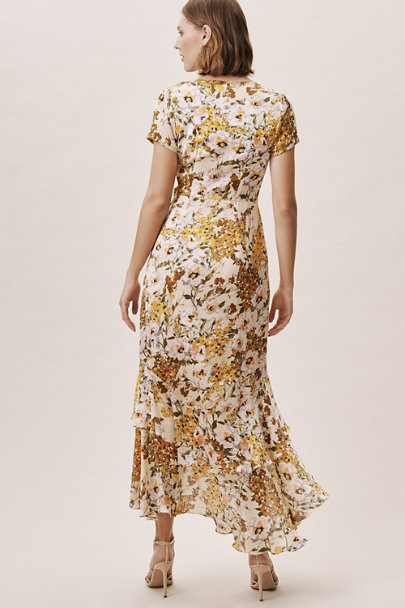 Vone Yellow Batara Dress | BHLDN
