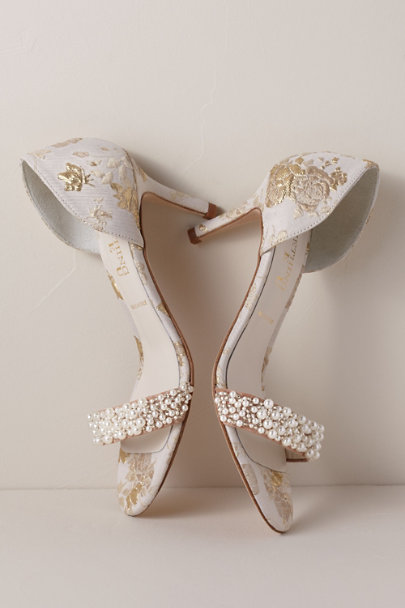 Something Bleu Ivory Something Bleu Cappy d'Orsay Heels | BHLDN