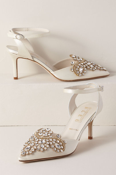 Something Bleu Ivory Something Bleu Emmie Heels | BHLDN