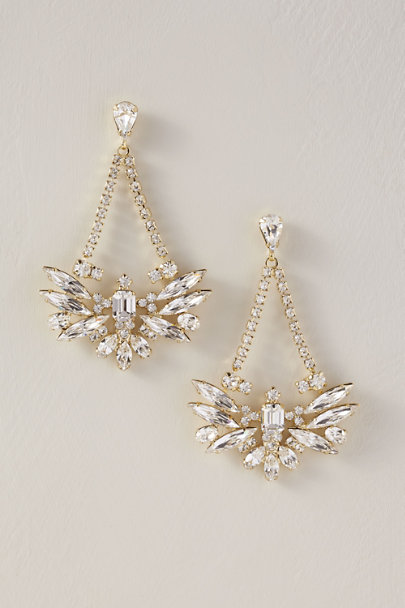 Sorrelli Gold Tova Chandelier Earrings | BHLDN