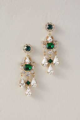 Verde Chandeliers Earrings