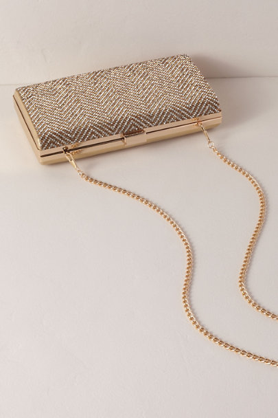 Nina Gold Rooney Clutch | BHLDN