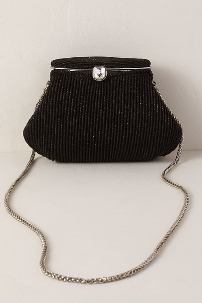 Adrianna Papell Black Sheryl Clutch | BHLDN