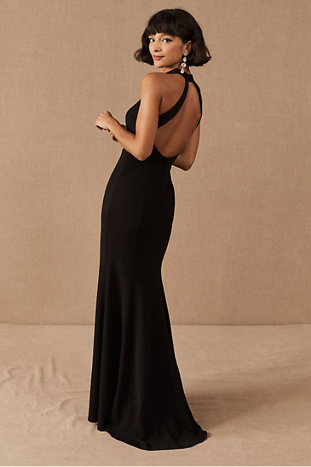 Montreal Crepe Maxi Dress