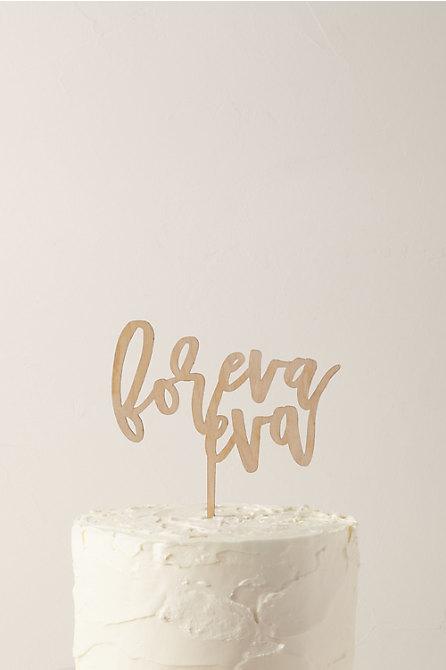 Foreva Eva Cake Topper