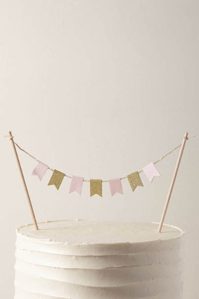 View larger image of Bunting Cake Topper
