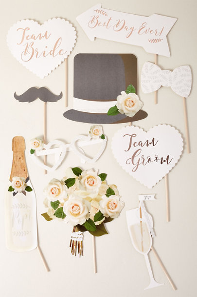 View larger image of Wedding Photobooth Props