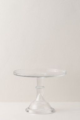Small Crystal Cake Stand