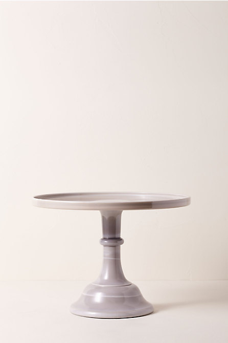 Large Marble Cake Stand