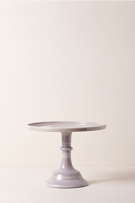 Small Marble Cake Stand