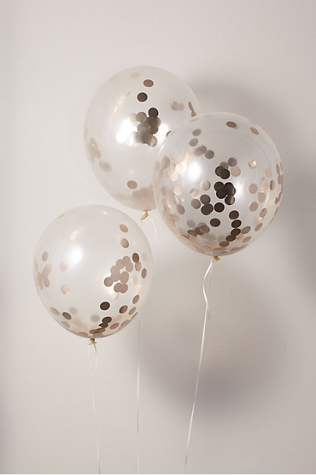 Standard Confetti Balloons