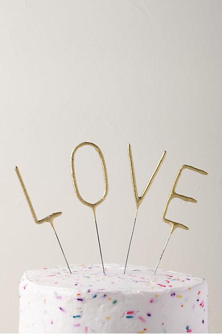 Large Love Sparklers