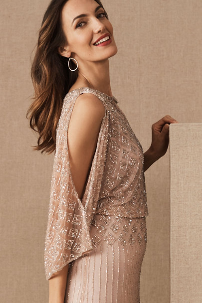 BHLDN Mauve Bathilda Dress | BHLDN