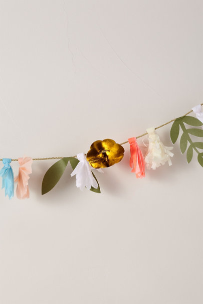 View larger image of Paper Flower Garland