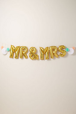 Mr. & Mrs. Balloon Kit