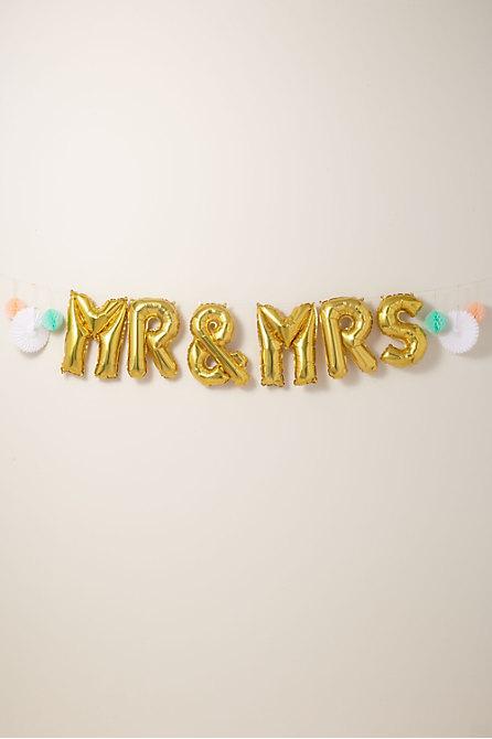 Mr. & Mrs. Balloon Kit