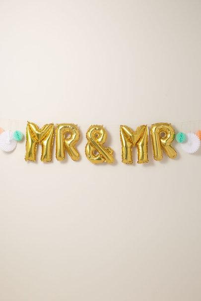 View larger image of Mr. & Mrs. Balloon Kit