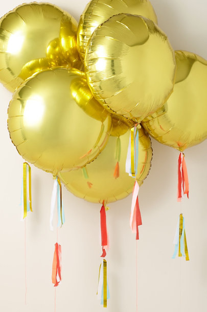 View larger image of Gold Foil Balloon Kit
