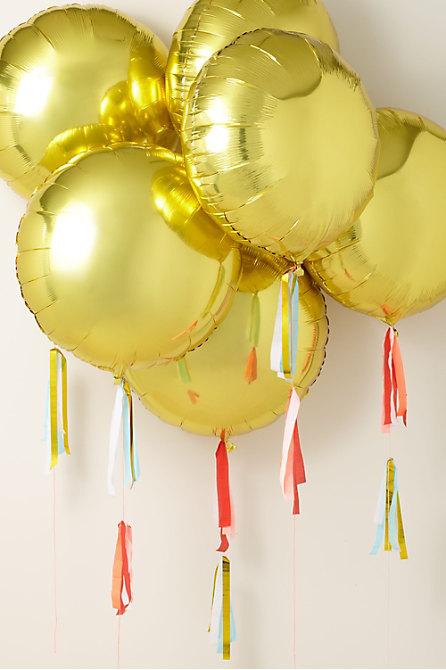 Gold Foil Balloon Kit