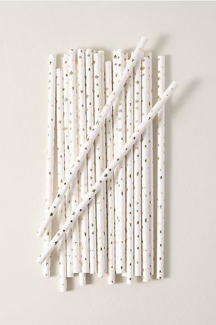 Star Paper Straws