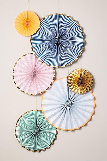 Bright Paper Pinwheels