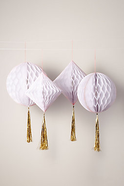 Honeycomb Hanging Decorations