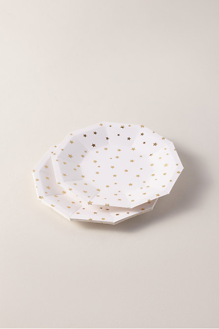 Star Paper Plates