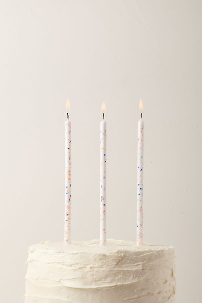 Meri Meri Assorted Confetti Candles | BHLDN
