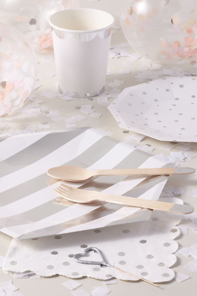 View larger image of Painted Wooden Cutlery Set