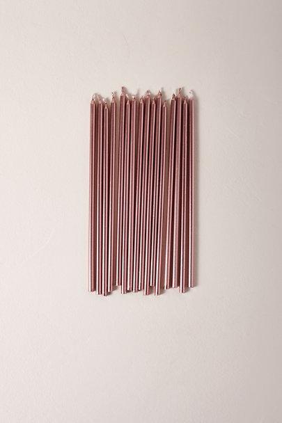 View larger image of Long Metallic Candles