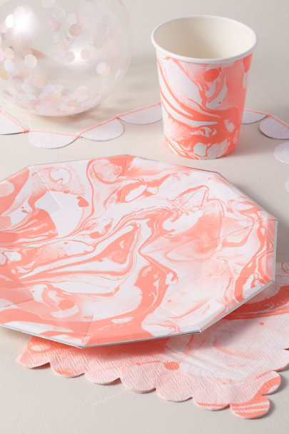 View larger image of Marbled Paper Plates