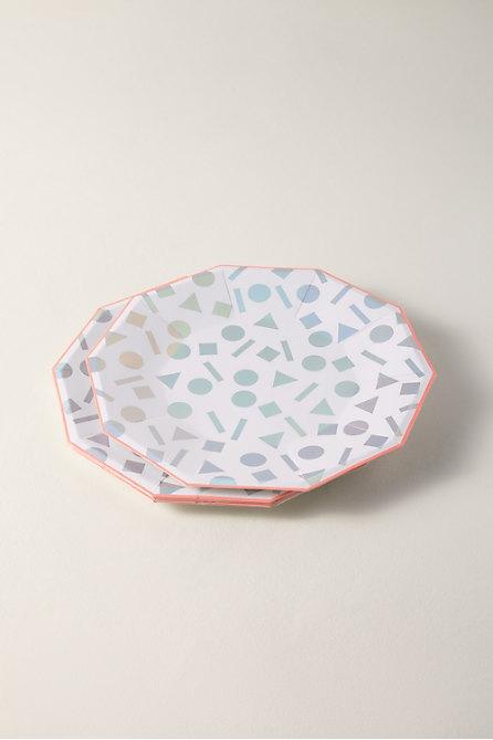 Confetti Paper Plates