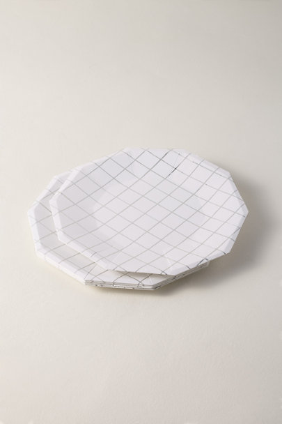 View larger image of Grid Paper Plates