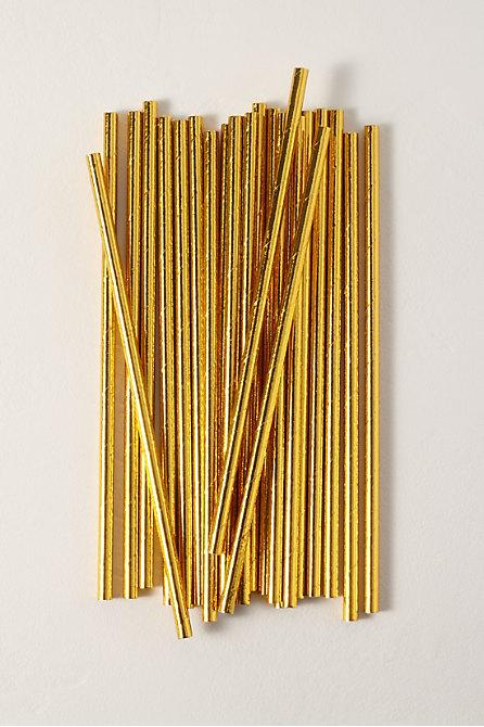 Foil Paper Straws