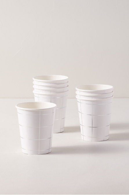 Grid Paper Cups