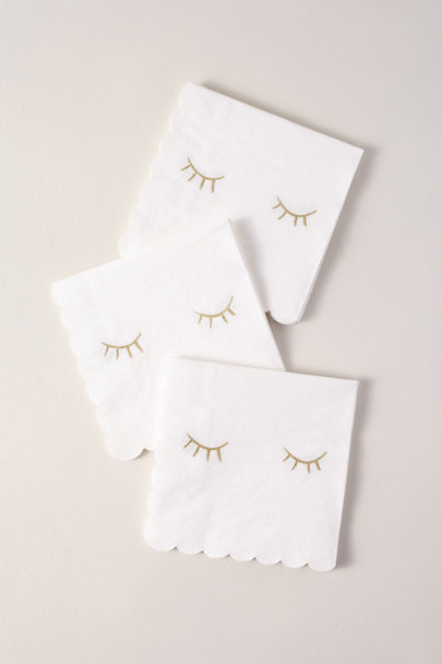 Meri Meri Gold Blink Napkins | BHLDN