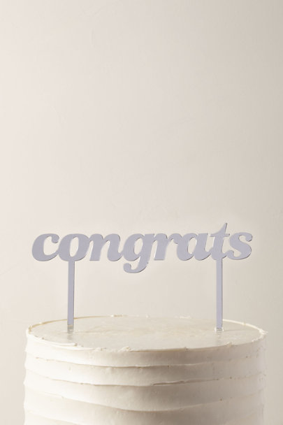View larger image of Congrats Cake Topper