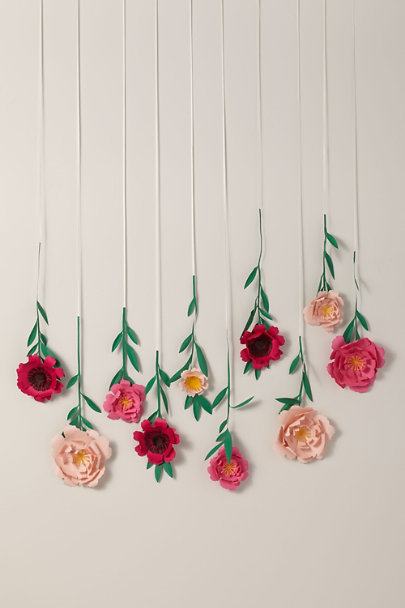 View larger image of Paper Flower Backdrop