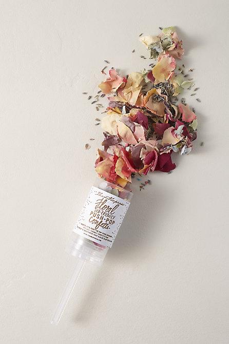 Dried Flowers Push-Pop Confetti