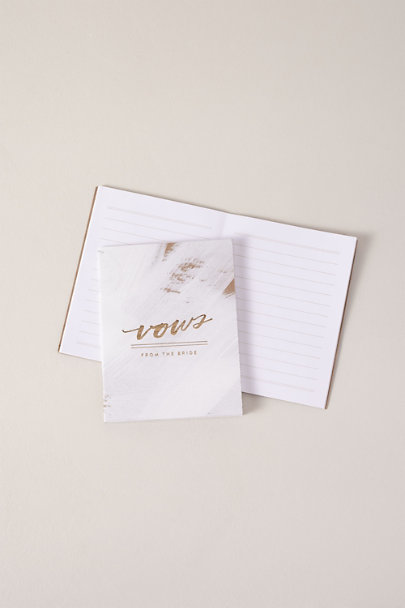 Moglea Assorted Hand-Painted Vow Books | BHLDN