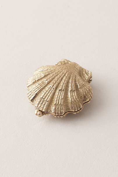 View larger image of Brass Seashell Ring Holder