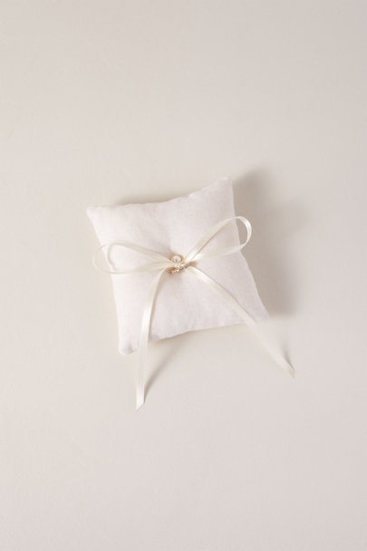 Homesite Ivory Mini Ring Bearer | BHLDN