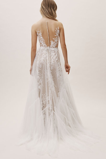 Willowby by Watters Ivory/Nude Capricorn Gown | BHLDN