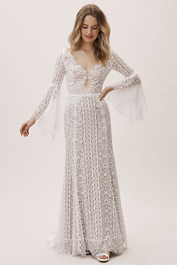 2886dcbe59db Lace Wedding Dresses & Beaded Wedding Gowns | BHLDN