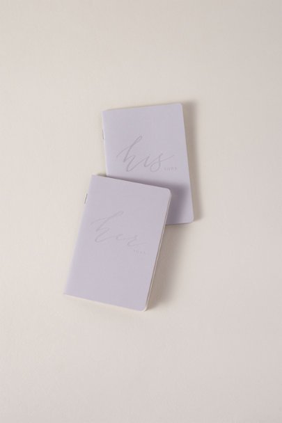 View larger image of His & Hers Vow Books