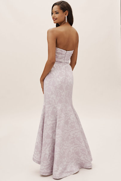 ML Monique Lhuillier Lilac Jenner Dress | BHLDN